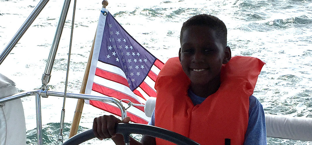 Kids love sailing tours