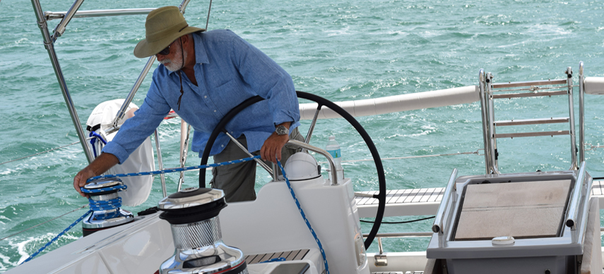 Captain Ramos on working your vacation sailing charter trip