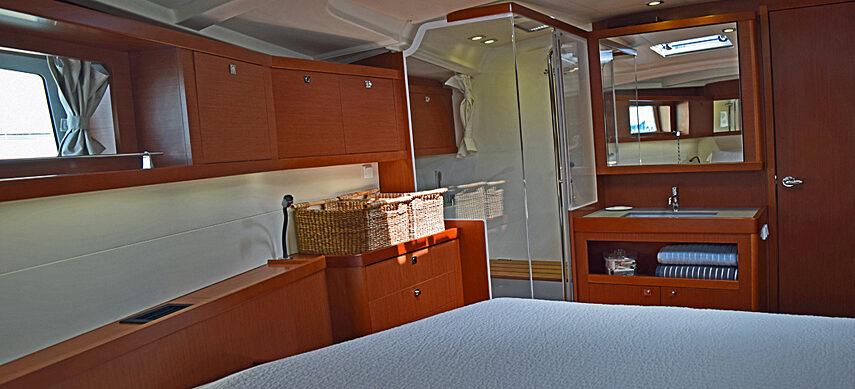 Sailboat Captain Cabin