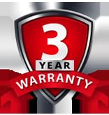 3 Year or 36,000 Mile Warranty