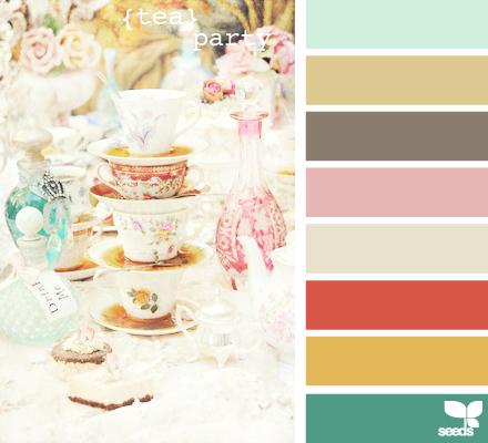 Tea Party Palette