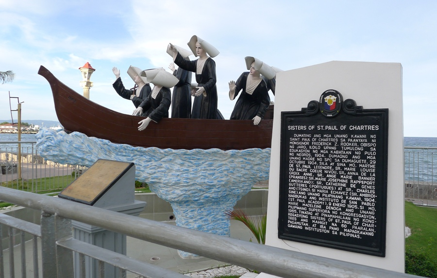 The Sisters of St. Paul of Chartres (SPC) established the first St. Paul school in Dumaguete.