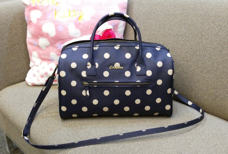 I proudly carried the bowler bag at the office the following day (excited lang, hehe!)