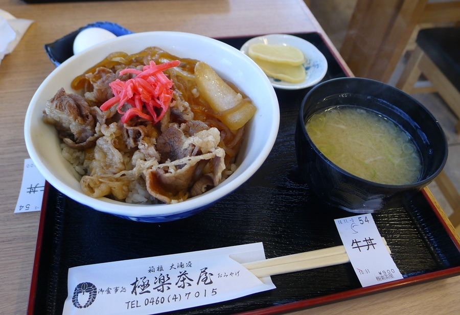 Beef Gyudon for me.