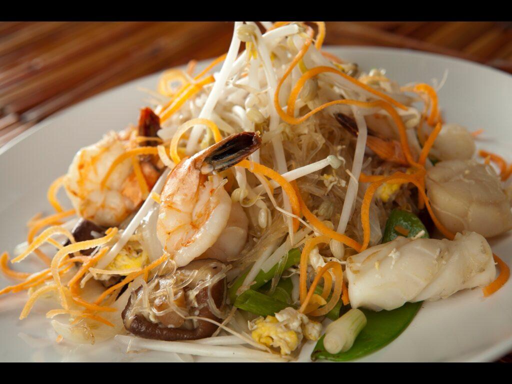 Pad Woon Sen Seafood