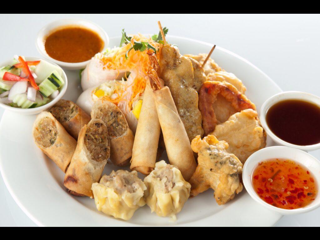 Thai Spice's Sampler