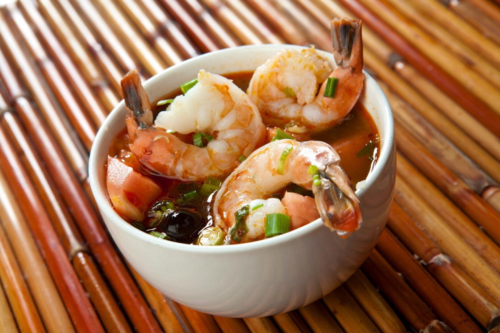 Tom Yum with Shrimp