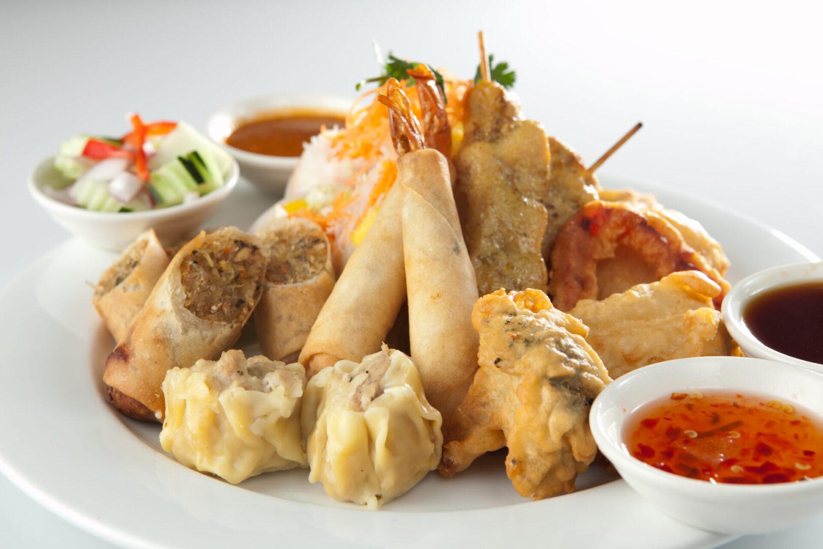 Thai Spice 's Sampler