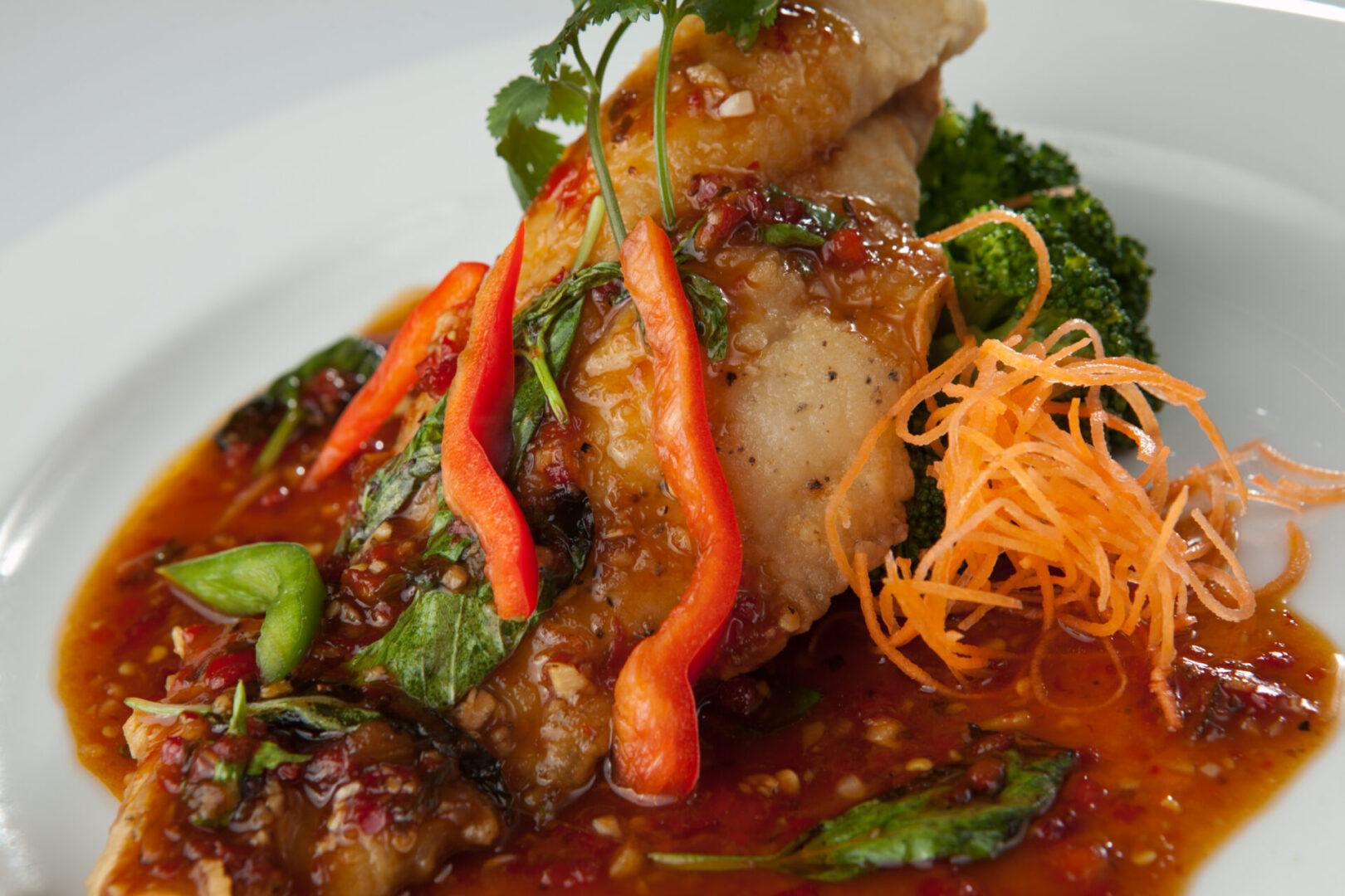 Cat Fish Thai Spice