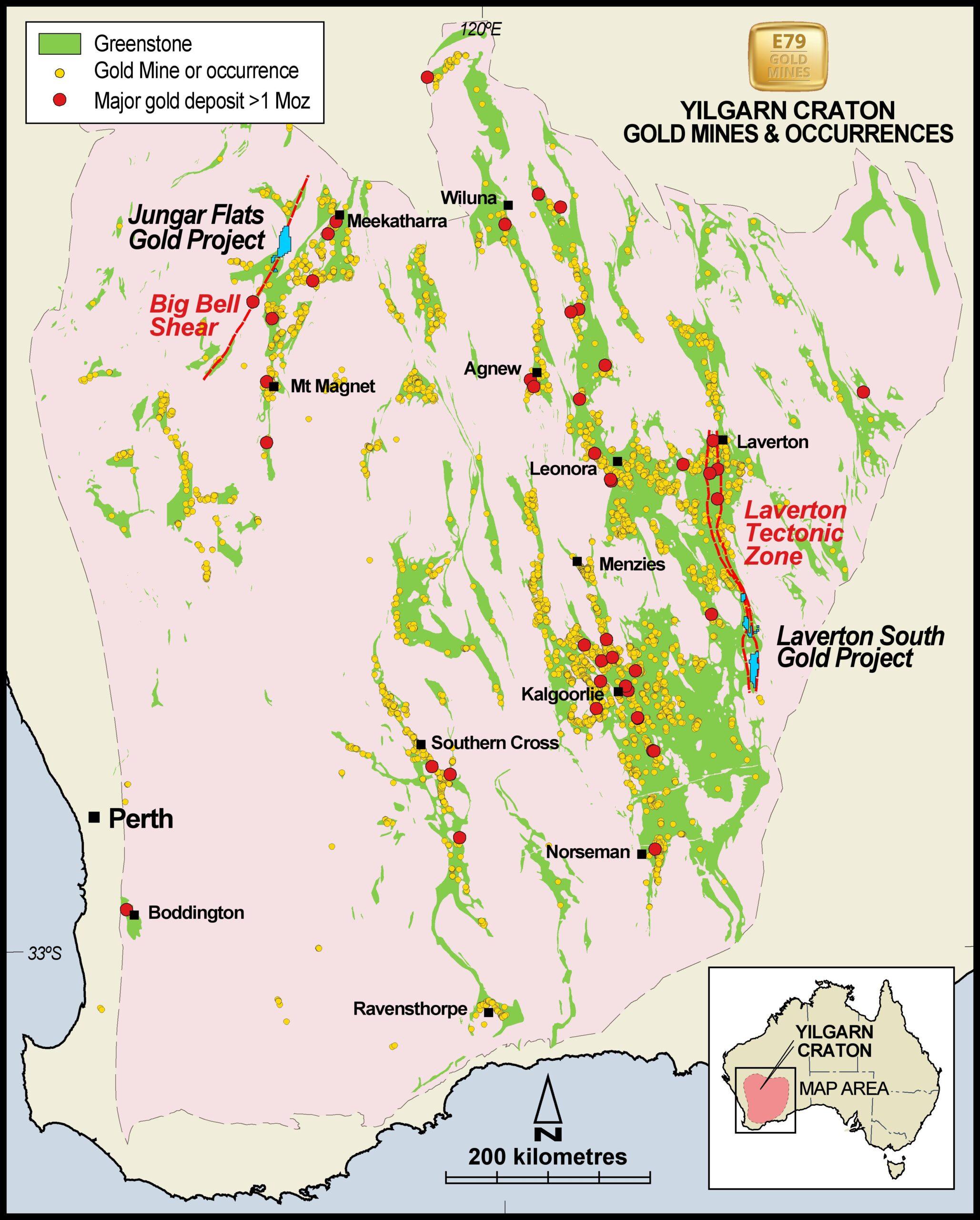 gold mining exploration Western Australia