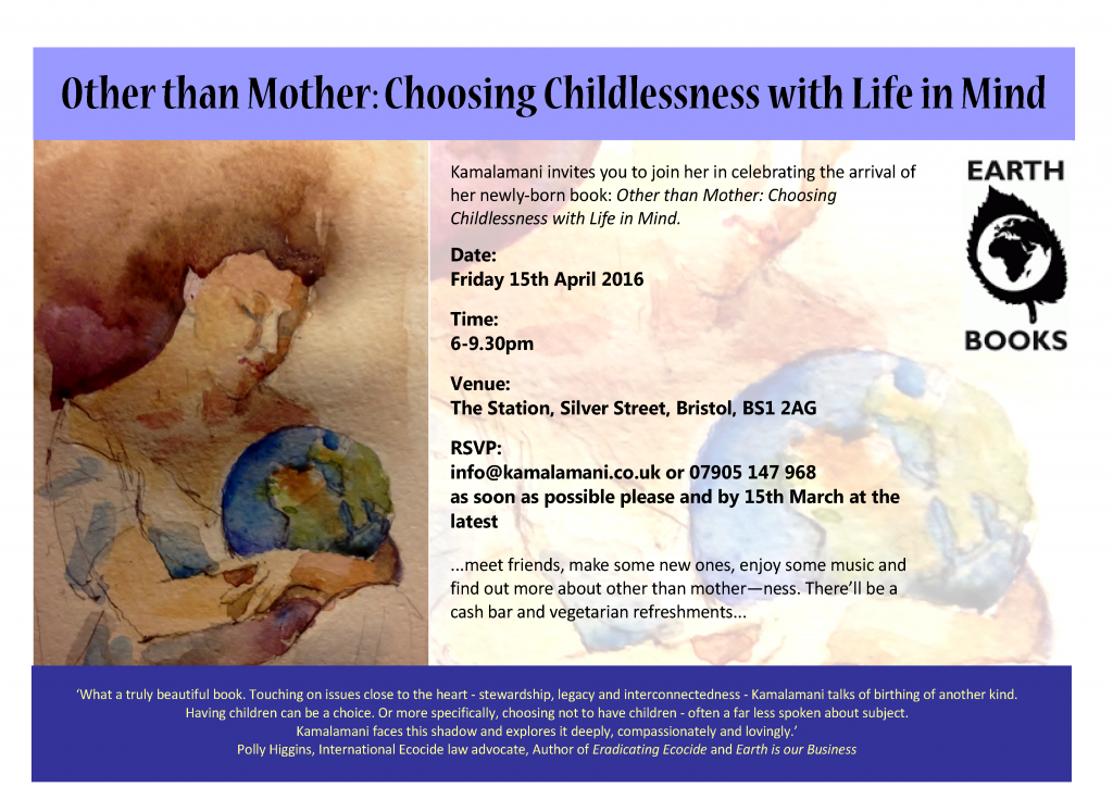 other than mother book launch invite final