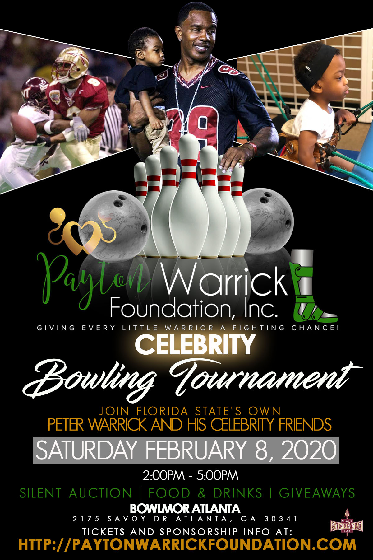 PWF Celebrity Bowling Tournament