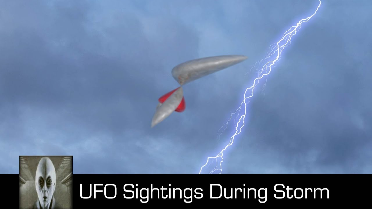 UFO Sightings During A Storm