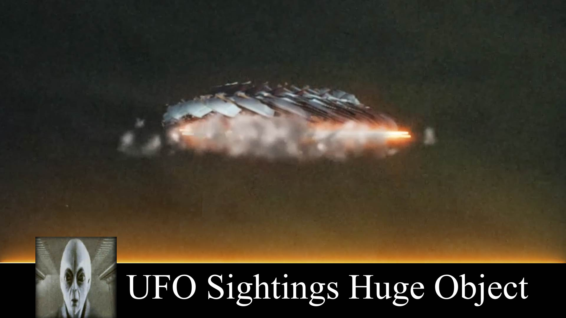 UFO Sightings Huge Object October 21st 2018