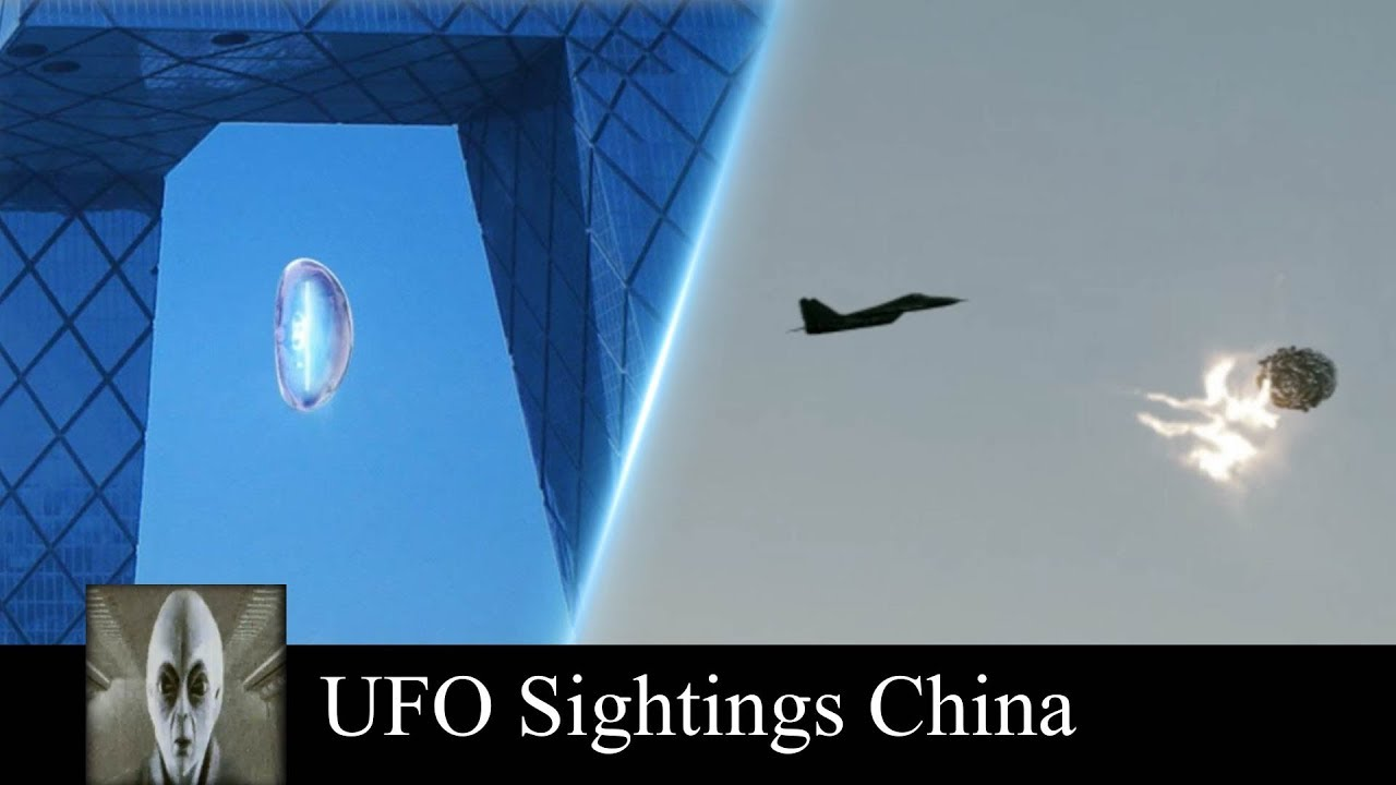 UFO Sightings Must See Footage and UFO Spotted in China