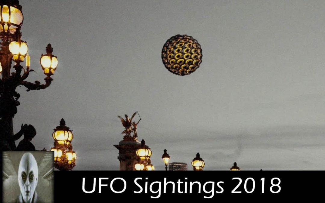 UFO Sightings Light Speed and UFO in France December 12-5-2018