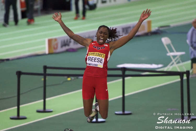 Brittney Reese of USA
