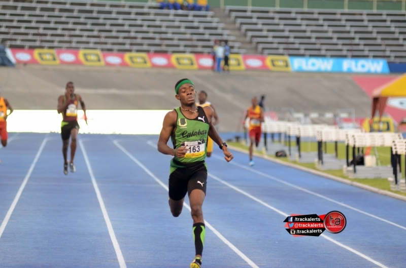 Christopher Taylor of Calabar Champs 2016