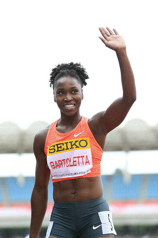 Tianna Bartoletta of USA