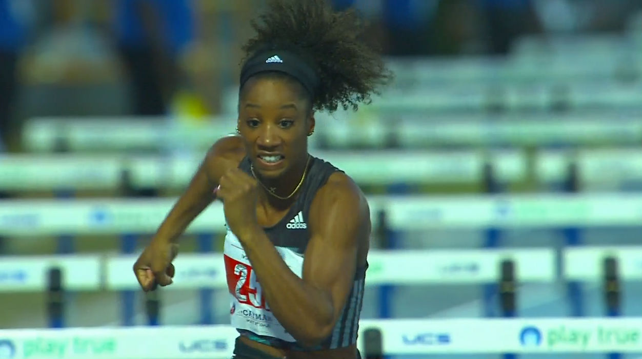 Kendra Harrison of USA: World-Leading