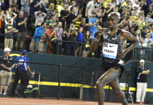 Prefontaine Classic with Mo Farah