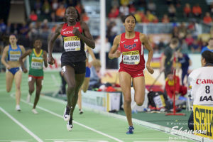 Ajee' Wilson: 2016 IAAF World Indoor Championships