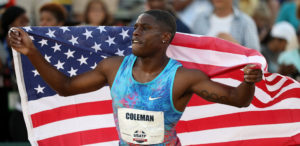 Christian Coleman world record 60m