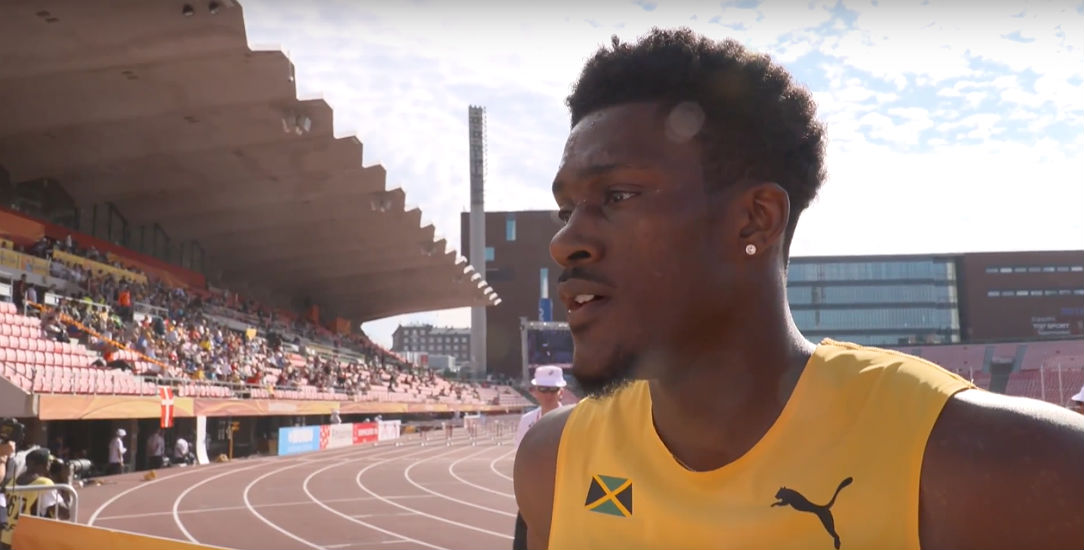 Damion Thomas - 2018 World U20 Championships