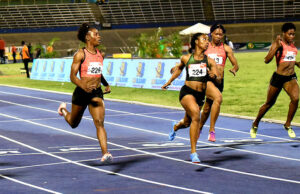 Shelly-Ann Fraser-Pryce Trials 2018