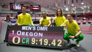 distance-medley relay