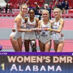 2021 SEC Championships Distance Medley Relay Record Team