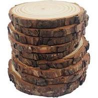 Wood Centerpieces