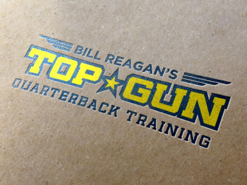 Top Gun Quarterback Training Logo