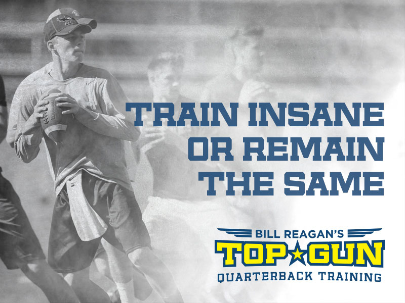 Top Gun Quarterback Training Branding
