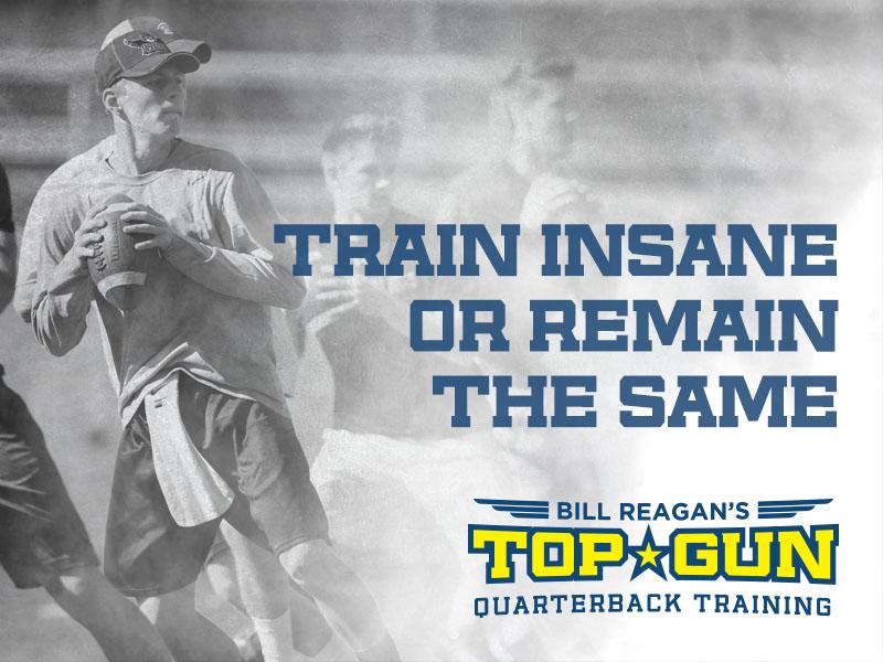 Top Gun Quarterback Training Branding