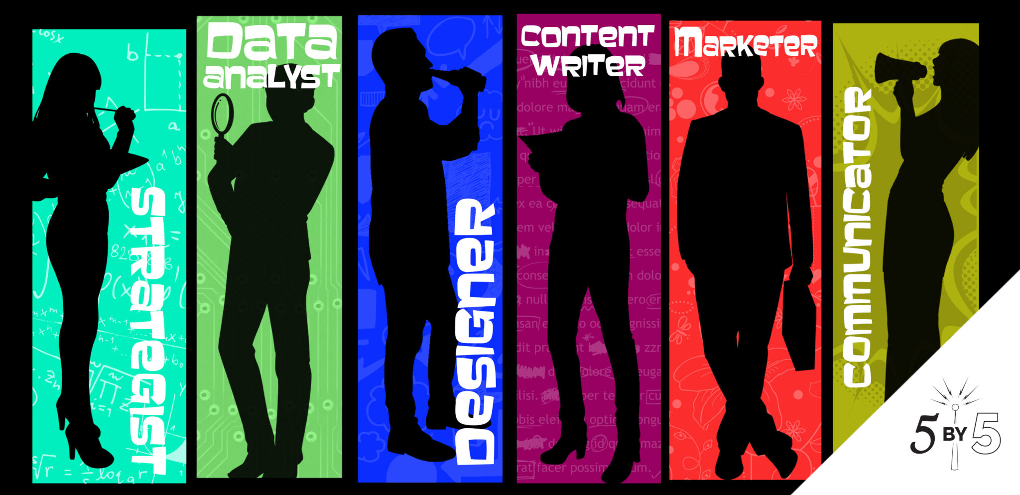 6 social media marketer profile images