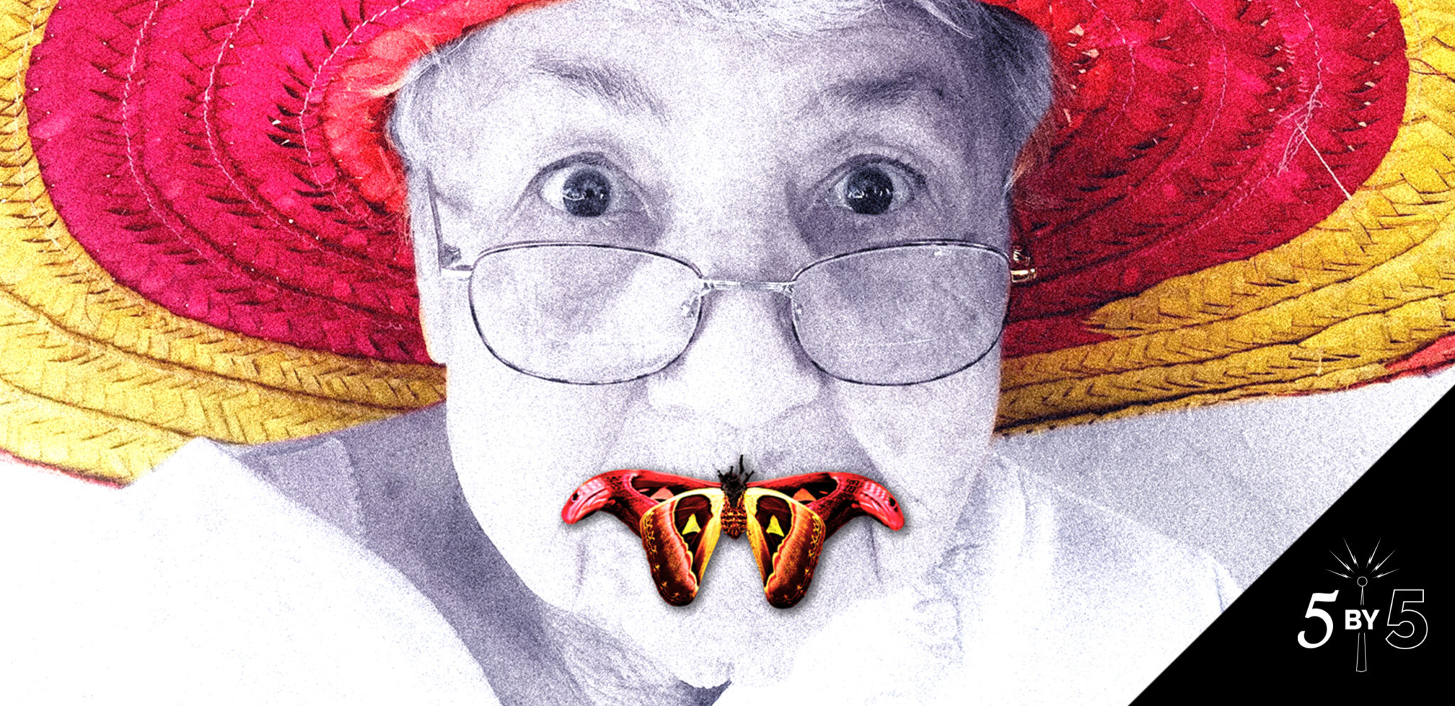 elderly woman in silence of the lambs poster