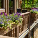 Vail-Mountain-Elegant-custom-flower-boxes-integrated-on-deck-railings