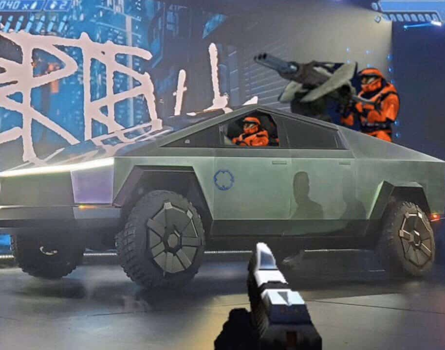 Halo Cybertruck