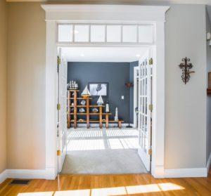 fix a sagging door