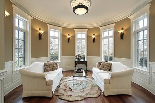 Lighting in living room