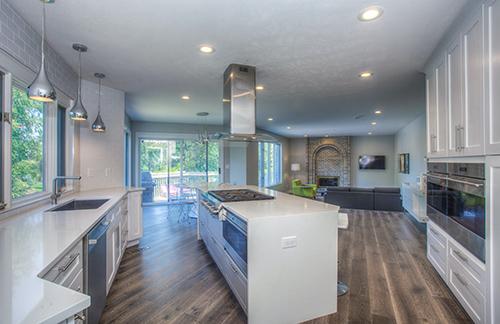 non-slip flooring in kitchen
