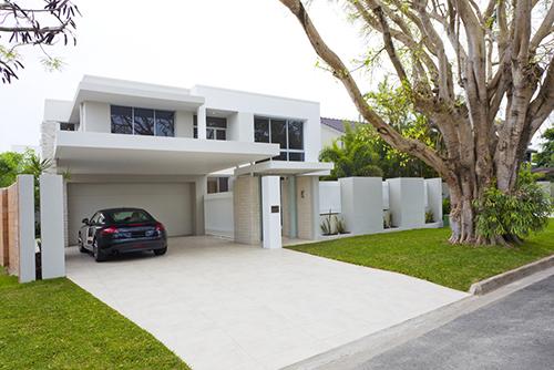 Non-slip garage flooring