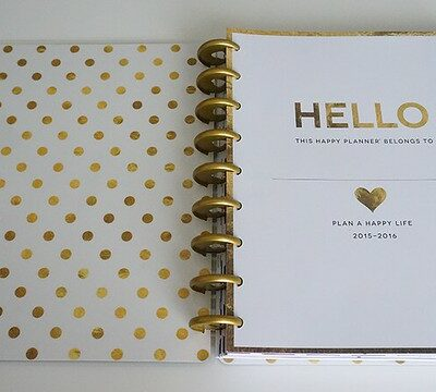 The Happy Planner – Overview + Haul