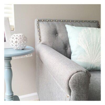 Master Bedroom Update: Mints, Whites, Grays