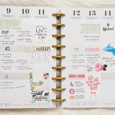 Plan With Me Sunday: Week 46