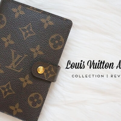 Louis Vuitton Agenda PM: Collection, Review, Set Up