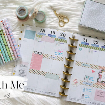 Plan With Me Sunday: Week 3 of 2016