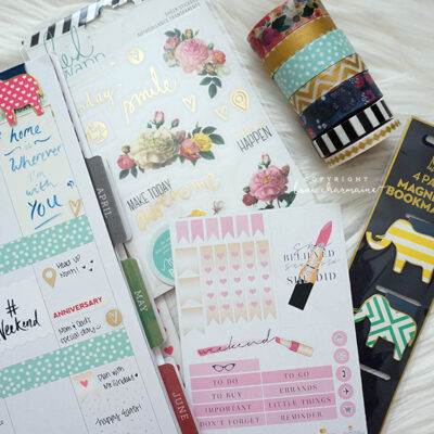 Plan With Me Week #12 + WIN A HAPPY PLANNER