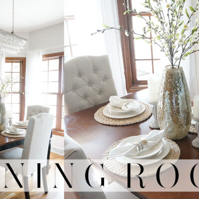 Dining Room Tour | End of Summer 2016